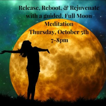Guided Meditation for October Full Moon