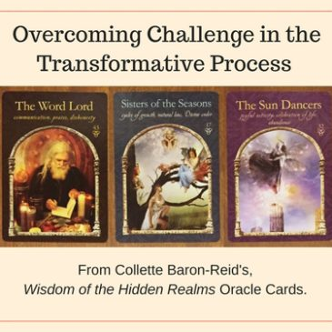 Overcoming Challenge in the Transformative Process